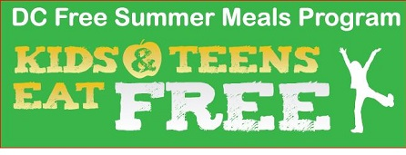 logo for DC Free Summer Meals Program